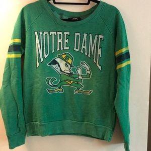 Notre Dame Fleece Crewneck